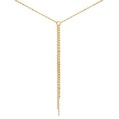 Minimal Gold Necklace 925 Gold Plated Yellow Gold Plated Women S