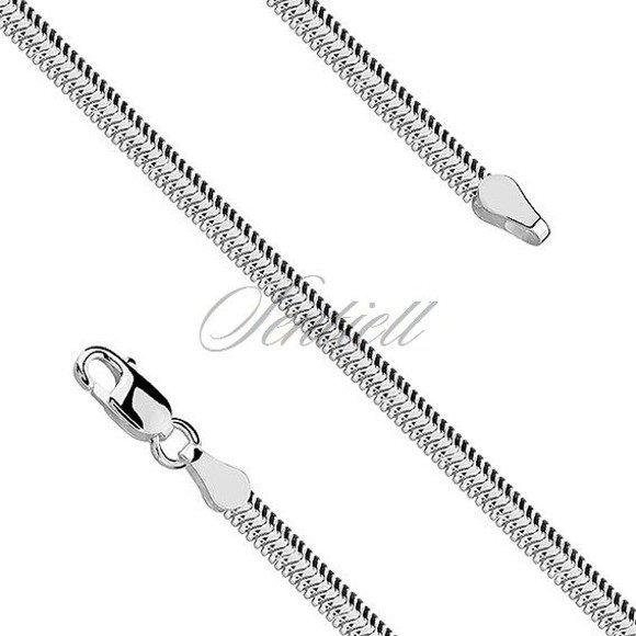 Silver (925) SNAKE FLAT necklace