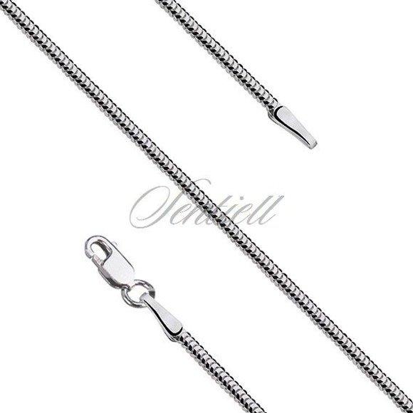 Silver (925) chain 8 sides snake  Ø 0160