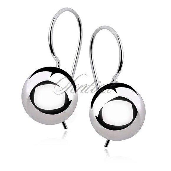 Silver (925) earrings balls 12mm