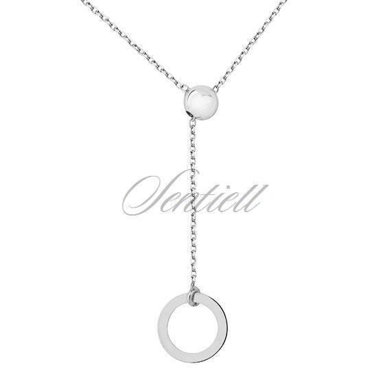 Silver (925) necklace - circle