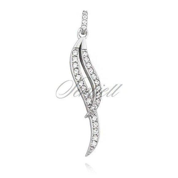 Silver (925) pendant with zirconia