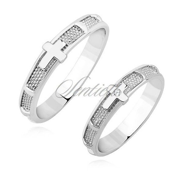 Silver (925) ring - rosary