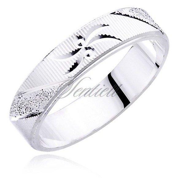 Silver (925) wedding ring