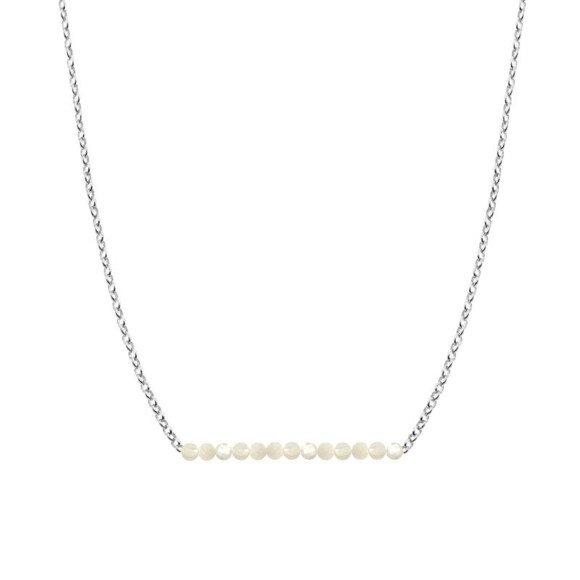 CZERWIEC - naszyjnik srebrny z perłą