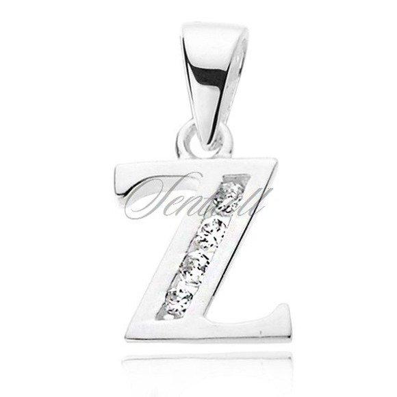 Srebrna zawieszka pr.925 literka Z