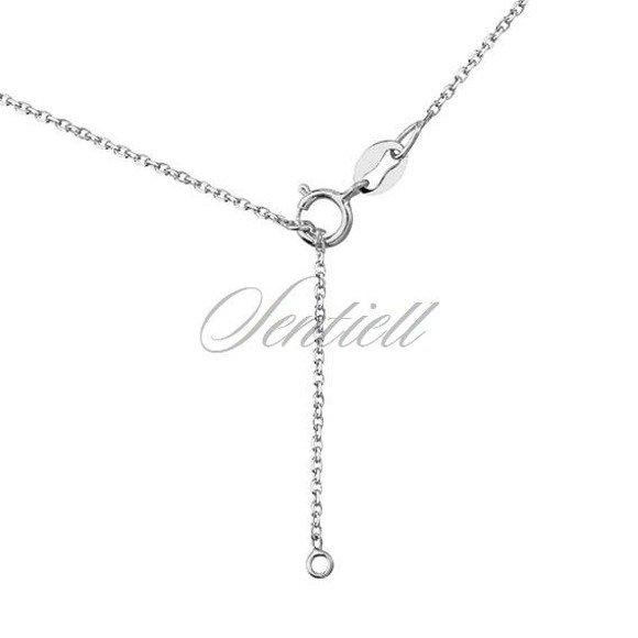 Srebrny naszyjnik pr.925 - kółeczko ażurowe